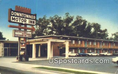 Downtowner Motor Inn - Florence, South Carolina SC Postcard