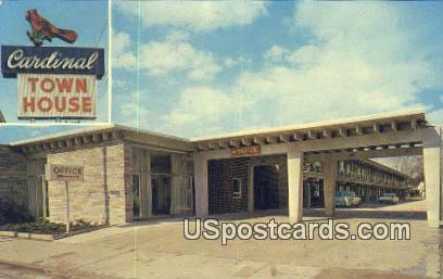 Cardinal Town House - Florence, South Carolina SC Postcard