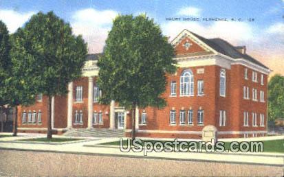 Court House - Florence, South Carolina SC Postcard