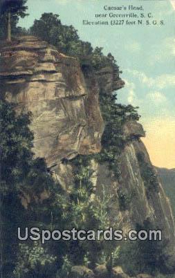Caesar's Head - Greenville, South Carolina SC Postcard
