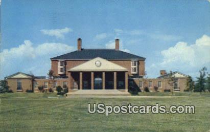 Library, Furman University - Greenville, South Carolina SC Postcard