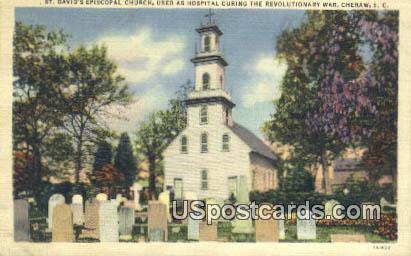 St David's Episcopal Church - Cheraw, South Carolina SC Postcard