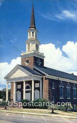 First Baptist Church - Myrtle Beach, South Carolina SC Postcard