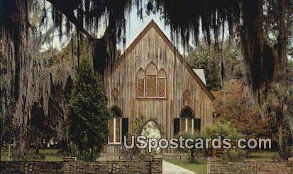 Church of the Cross Bluffton - Beaufort County, South Carolina SC Postcard