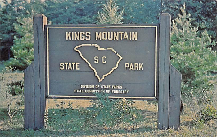 Kings Mountain National Military Park SC