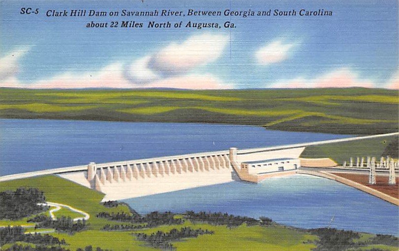 Clarks Hill Dam SC