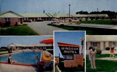 Windsor Motel - Summerton, South Carolina SC Postcard