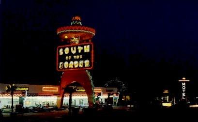 The Mexico Shop - South of the Border, South Carolina SC Postcard