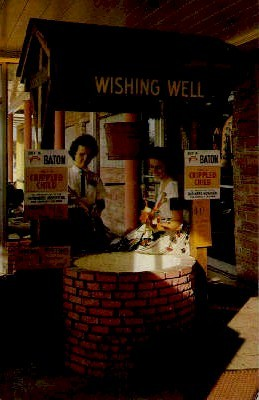 Wishing Well - South of the Border, South Carolina SC Postcard