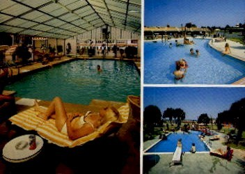 3 Pools - South of the Border, South Carolina SC Postcard