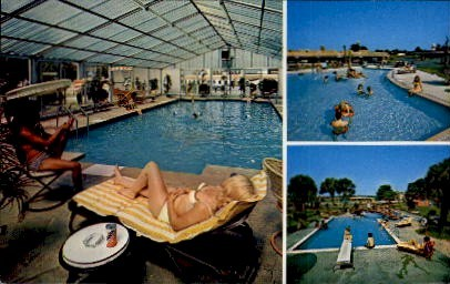 3 Pools - South of the Border, South Carolina SC Postcard