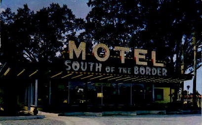 The Motel of Tomorrow - South of the Border, South Carolina SC Postcard