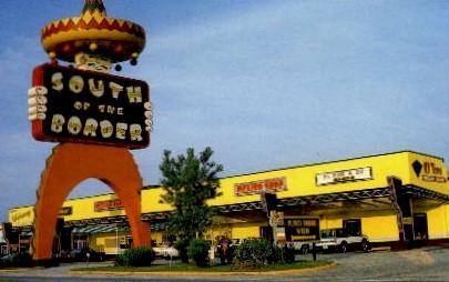 Sombrero Restaurant - South of the Border, South Carolina SC Postcard