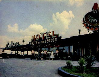 The Motel of Tomorrow - South of the Border, South Carolina SC Postcard
