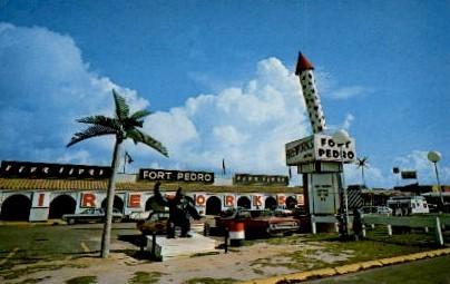 Fort Pedro - South of the Border, South Carolina SC Postcard