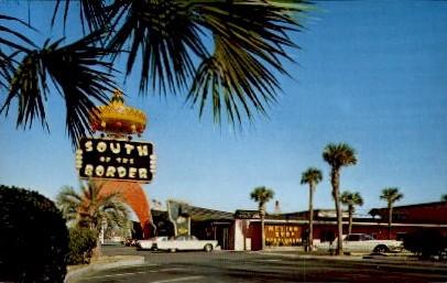 Pedro's Famous Restaurant - South of the Border, South Carolina SC Postcard