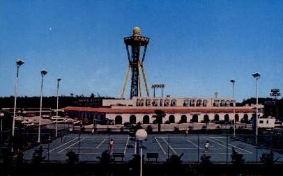 Mexico Shop West Elevator - South of the Border, South Carolina SC Postcard