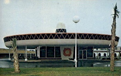 Sombrero Building - South of the Border, South Carolina SC Postcard