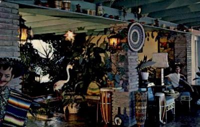 Pedro's Motel Lobby-Lounge - South of the Border, South Carolina SC Postcard