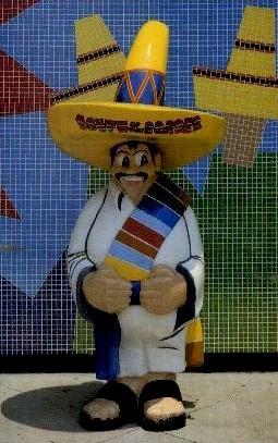 Pedro - South of the Border, South Carolina SC Postcard