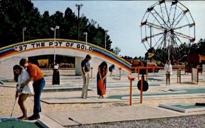 Amigoland Fun Park - South of the Border, South Carolina SC Postcard
