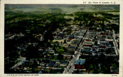 Sumter, S.C. - South Carolina SC Postcard