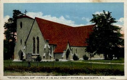 Church of the Holy Cross - Sumter, South Carolina SC Postcard
