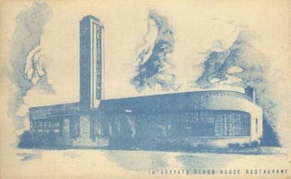Interstate Glass House Restaurant - Walterboro, South Carolina SC Postcard