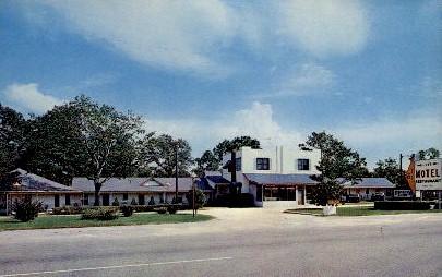 Lee's Motel and Restaurant - Walterboro, South Carolina SC Postcard
