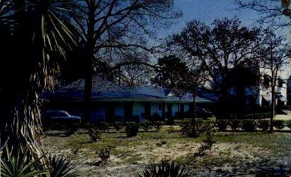 Lee's Ranch Motor Hotel and Restaurant - Walterboro, South Carolina SC Postcard