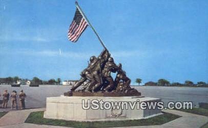 Iwo Jima Monument - Parris Island, South Carolina SC Postcard