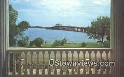 Bridge to Lady's Island - Beaufort, South Carolina SC Postcard