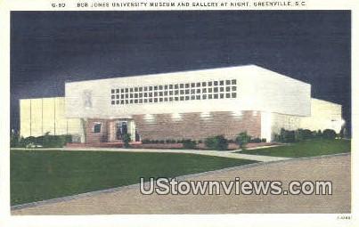 Bob Jones University Museum 7 Gallery - Greenville, South Carolina SC Postcard