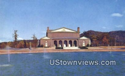 McAlister Auditorium, Furman University - Greenville, South Carolina SC Postcard
