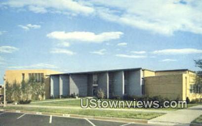 Fine Arts Bldg, Bob Jones University - Greenville, South Carolina SC Postcard
