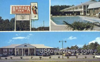 Ramada Inn - Florence, South Carolina SC Postcard