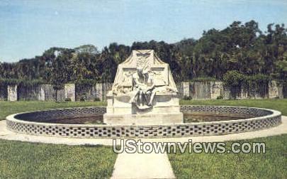 Brookgreen Gardens - Murrells Inlet, South Carolina SC Postcard