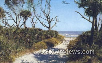 Beaufort County, South Carolina, SC Postcard