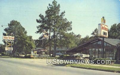 Town Terrace Inn - Orangeburg, South Carolina SC Postcard
