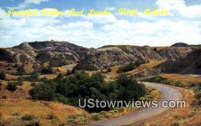 Peaceful Valley - Badlands, South Dakota SD Postcard