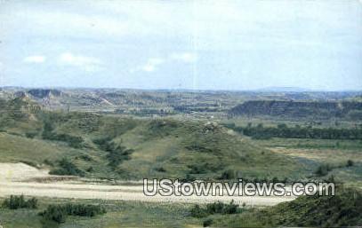 Badlands, South Dakota SD Postcard
