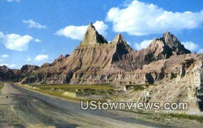 Cedar Pass Lodge - Badlands National Monument, South Dakota SD Postcard