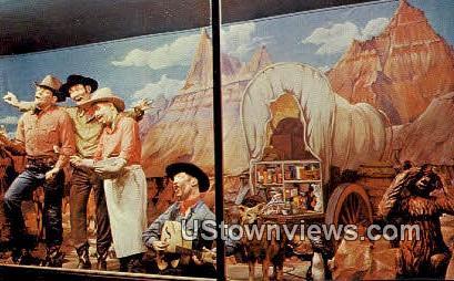Chuck Wagon - Wall, South Dakota SD Postcard