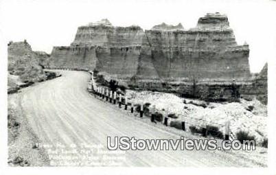 Badlands National Monument, SD, South Dakota Postcard