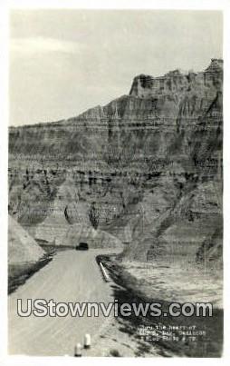 Badlands, SD, South Dakota Postcard