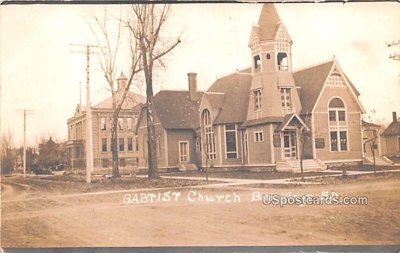 Baptist Church - Brookings, South Dakota SD Postcard
