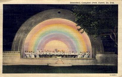 Huron College Orchestra - South Dakota SD Postcard
