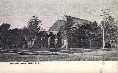 Congregational Church - Huron, South Dakota SD Postcard