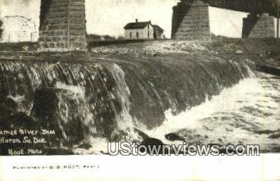 Huron, SD, South Dakota Postcard