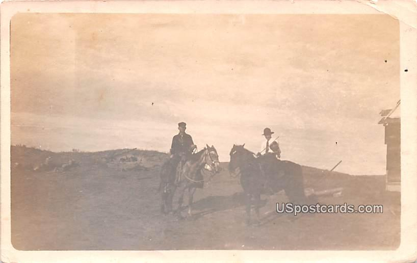 Horseback Riders - Misc, South Dakota SD Postcard